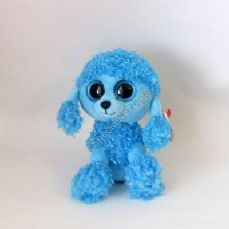 TY Beanie Boos, Mandy the Blue Poodle.